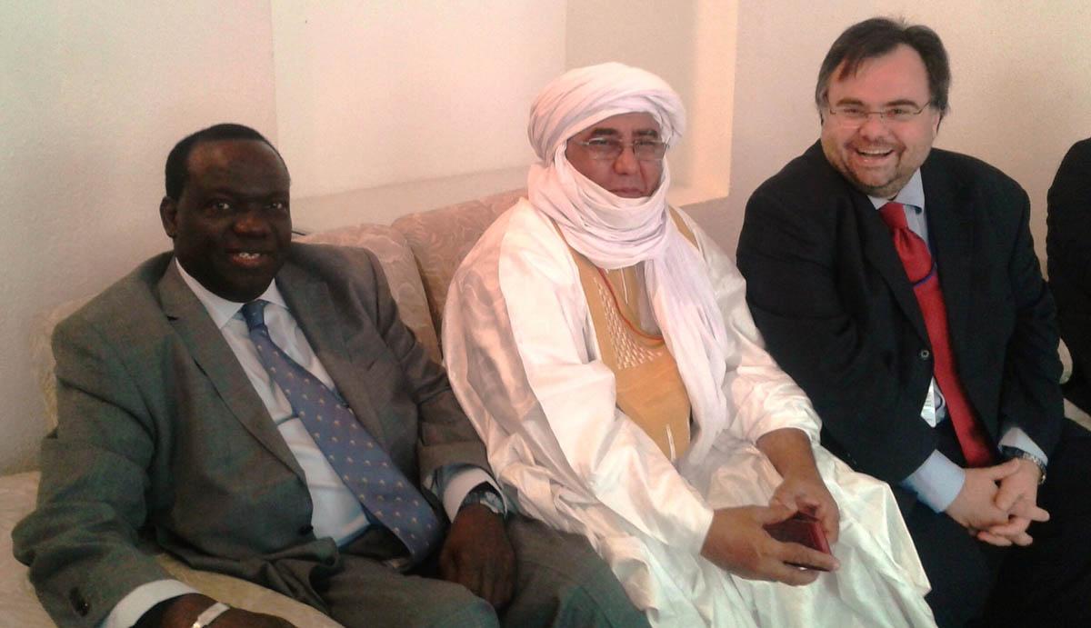 Buhalis Minister of Tourism Yehia Ag Mohamed Ali of Mali and Ousmane Ndiaye UNWTO