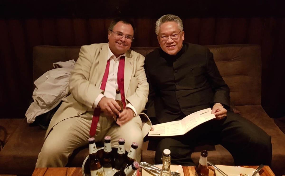Buhalis and H.E. Mr. Pisanu Suvanajata Thailand Ambassador in UK