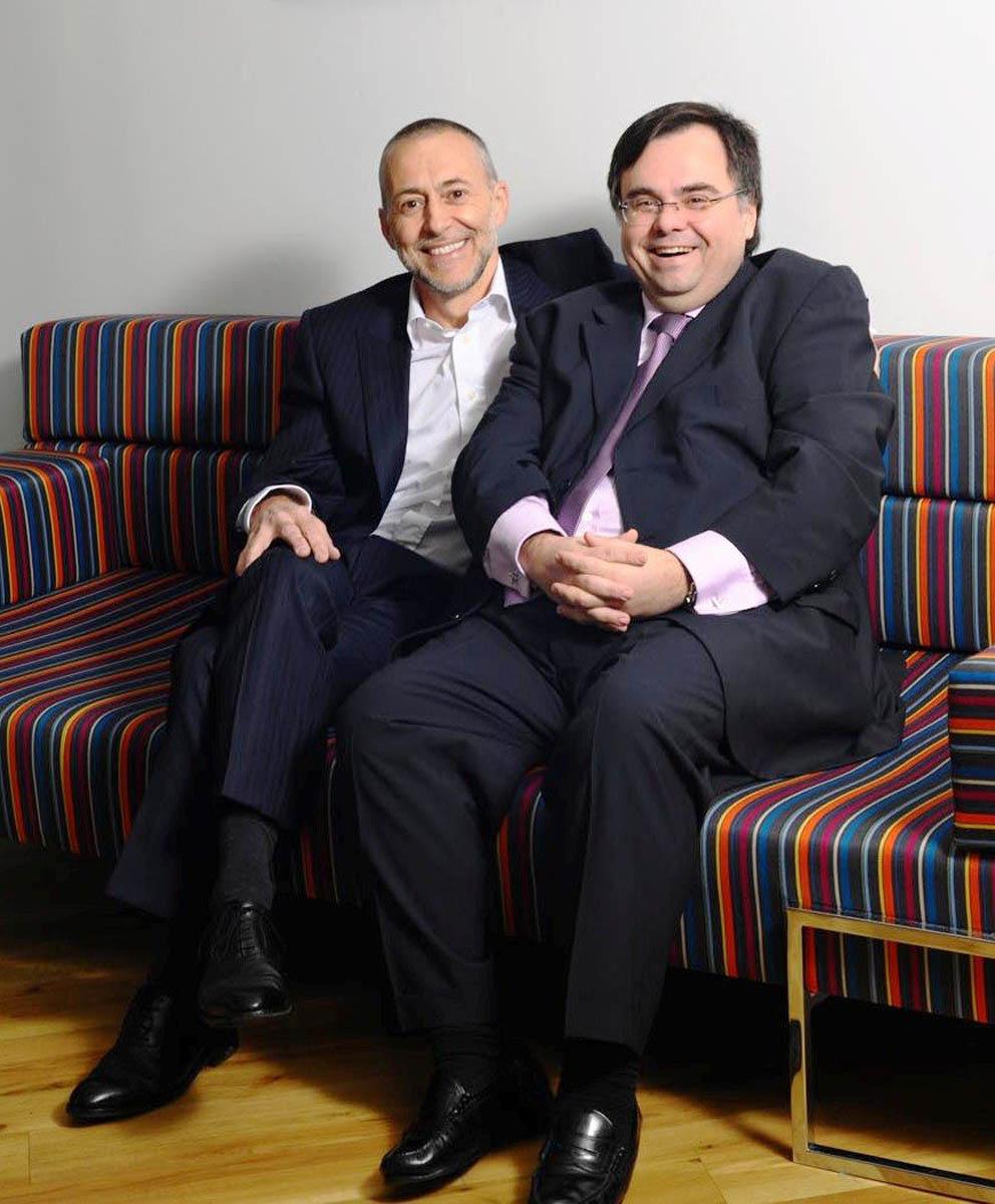 Buhalis with Michel Roux Jr