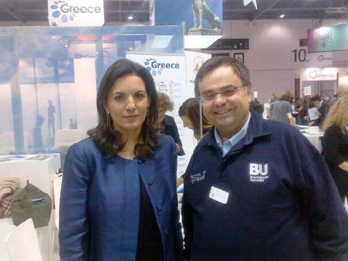 Buhalis with Olga Kefalogianni