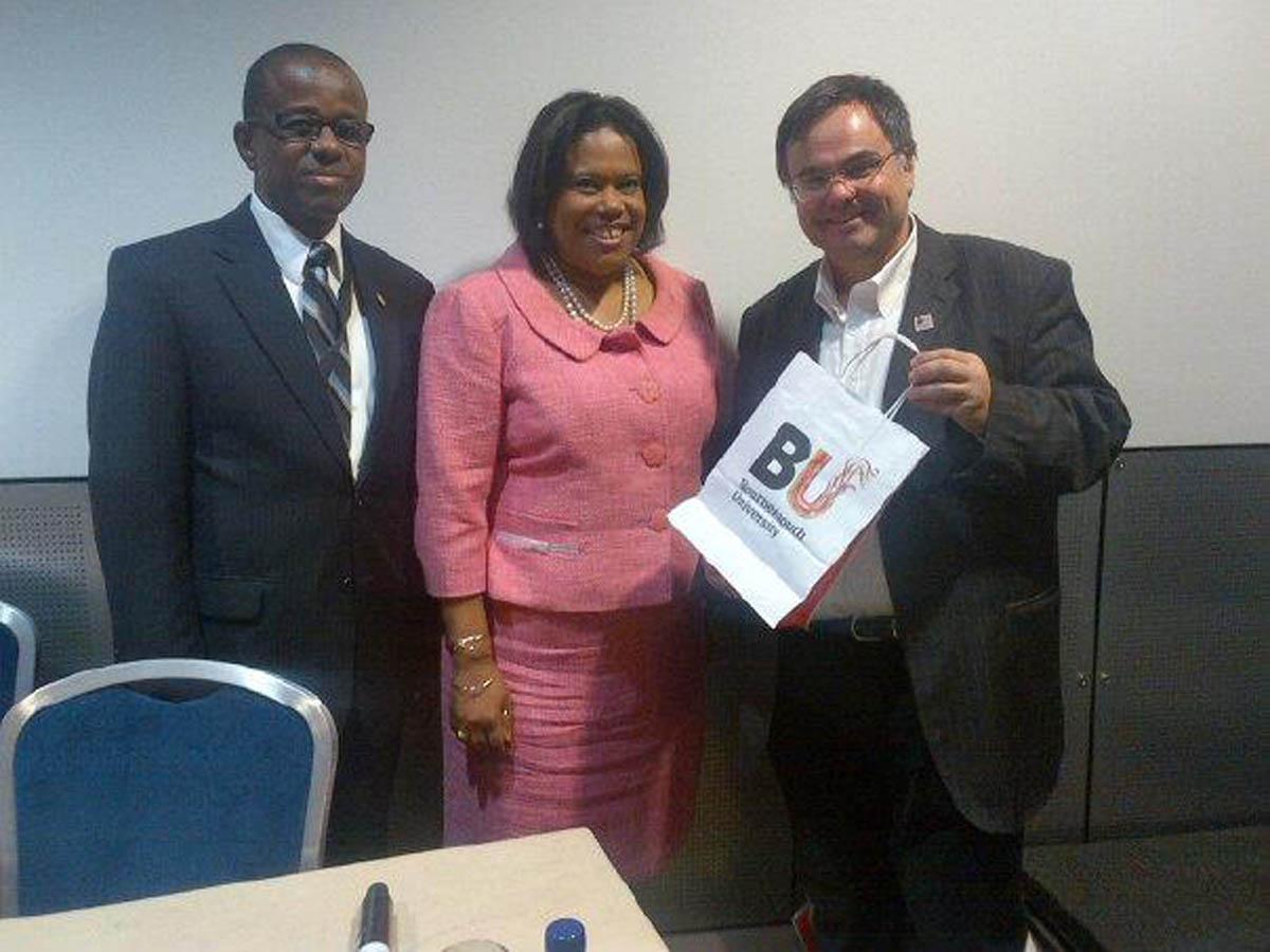 Buhalis with the Carribean Tourism Association
