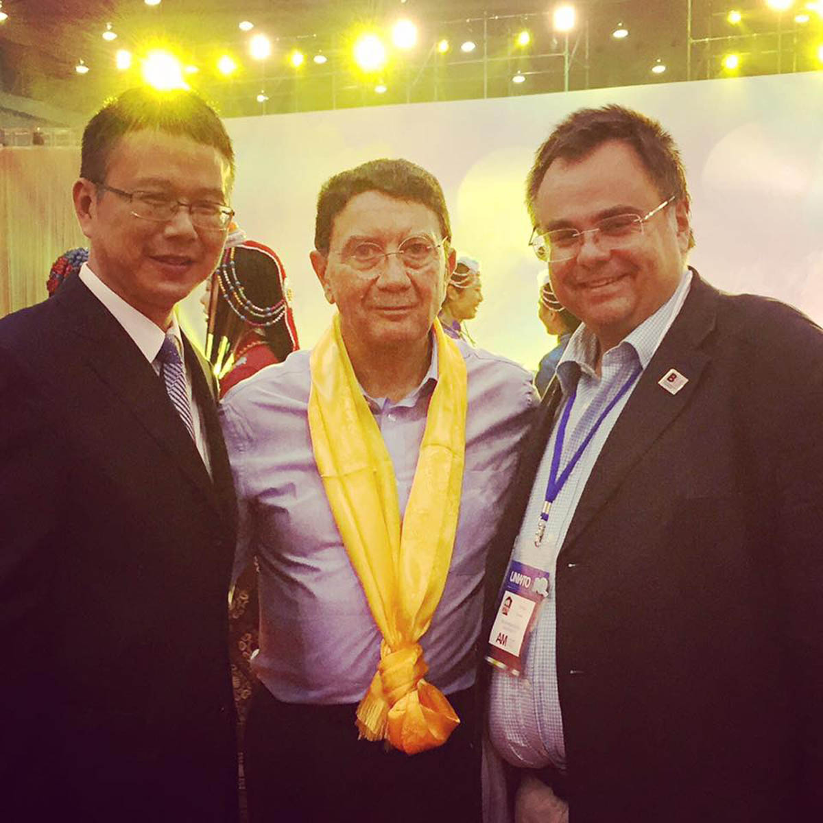 taleb and Governor of Chengdue China