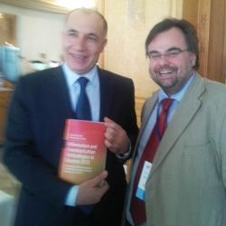 Buhalis Minister of Tourism of Tunisia Jamel Gamra