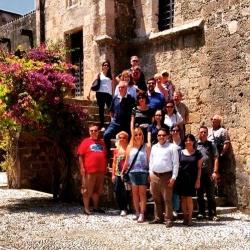Buhalis Rhodes Academy tour