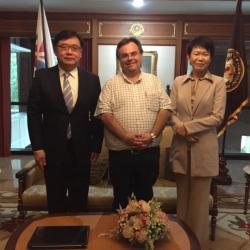 Buhalis at Siam University Bangkok Thailand