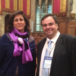 Buhalis with Isabel Borrego Cortes Minister of Tourism Spain