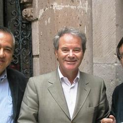 MexicoA2010Minister of Tourism for the Mexican State of Guanajuato Sergio Enrique Rodriguez Herrera,  the Mexico Minister of Tourism Mr Alejandro Moreno Medina and Dimitrios Buhallis
