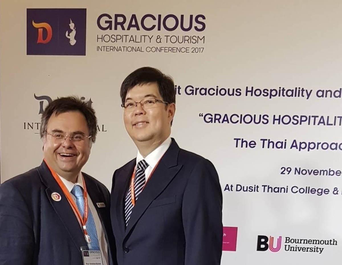 ____ Dimitrios Buhalis and Sarote Phornprapha President at Dusit Thani