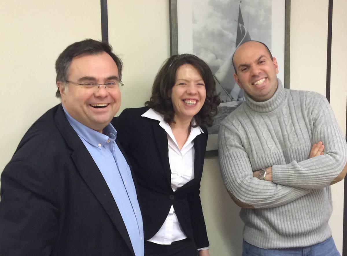 Buhalis with Zornitza Yovcheva and Christos Gatzidis